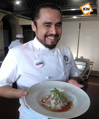 KWtv receta de risotto con frutos del mar